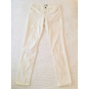 Express Skinny Cream White Legging Jeans Size 4